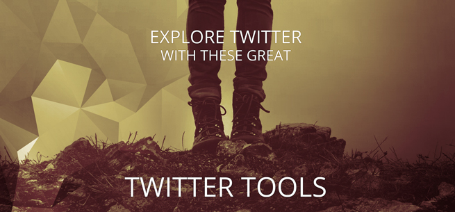 exploration boots twitter tools