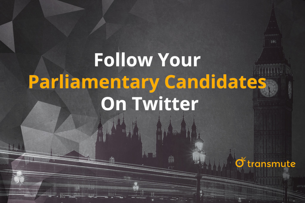 2015 UK General Election candidates on Twitter