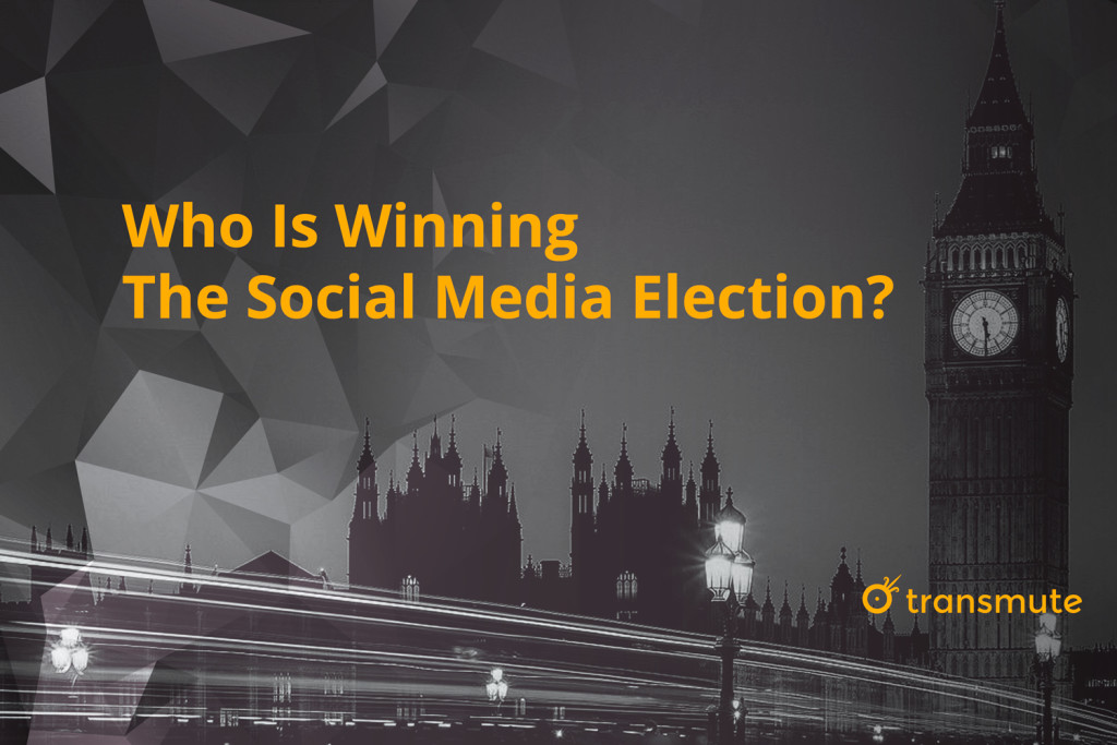 who is winning the social media election